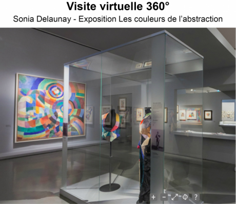 Visite virtuelle Exposition Sonia Delaunay
