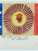 The main National flag of Abbieannia