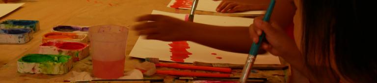 Peindre est un geste
