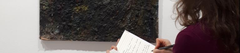 Écrire au musée – exposition Hans Hartung