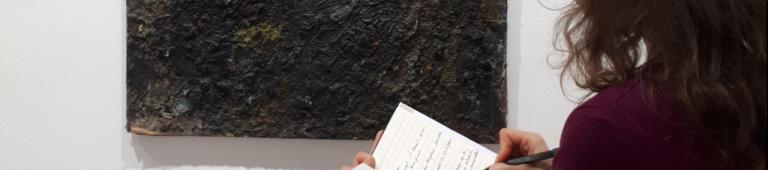 Écrire au musée – dans les collections permanentes