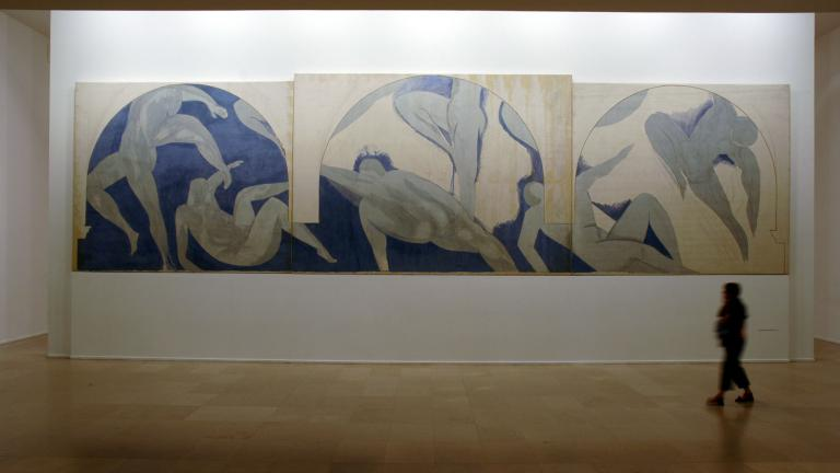 View of the Unfinished Dance of Matisse