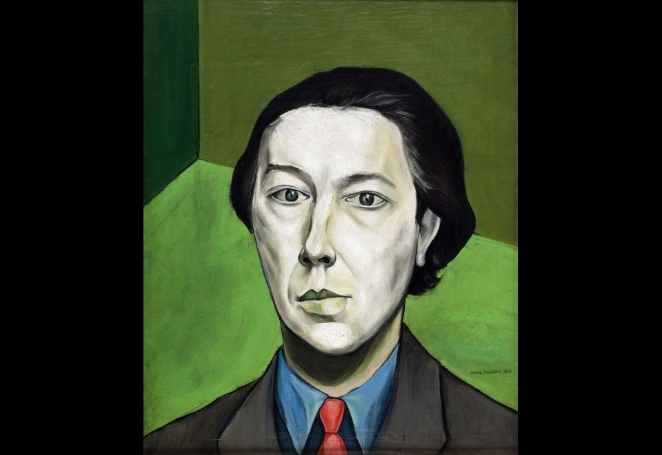 Victor Brauner, Portrait d'André Breton, 1934