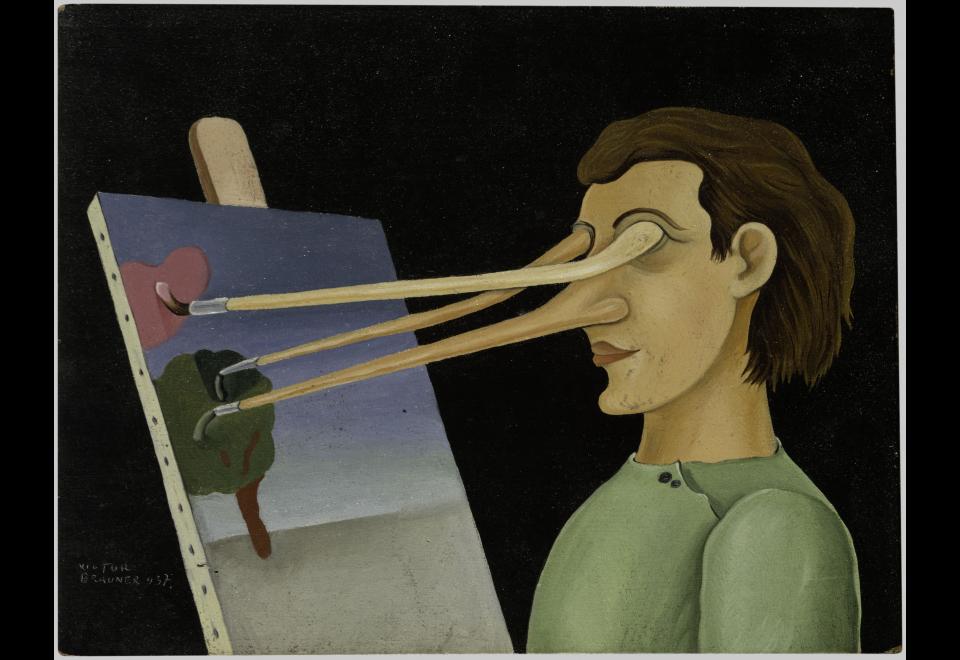 Victor Brauner, Sur le motif, 1937