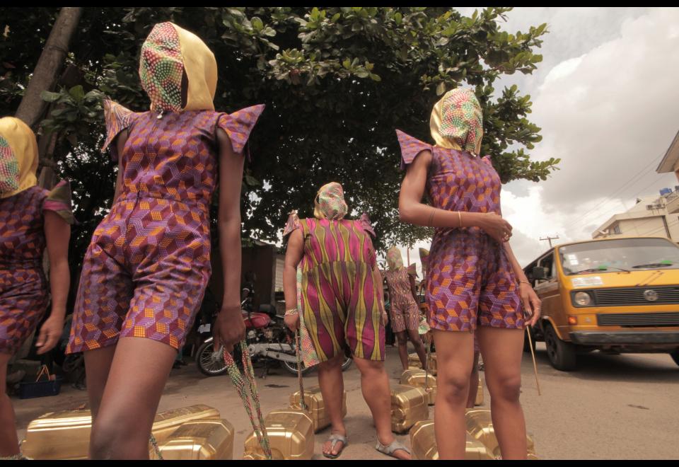 Wura-Natasha Ogunji, Will I still carry water when I am a dead woman ?, 2013