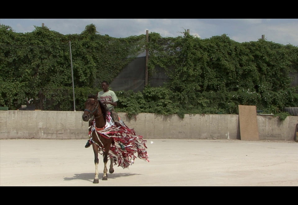 Mohamed Bourouissa, Horse Day, 2015