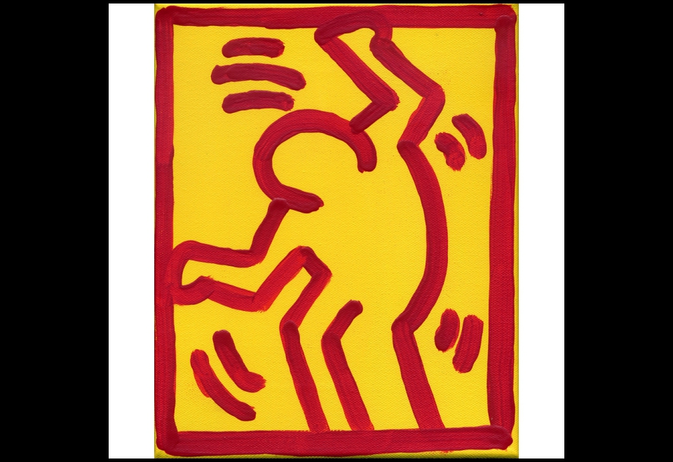 Eric Doeringer, Keith Haring, 2001