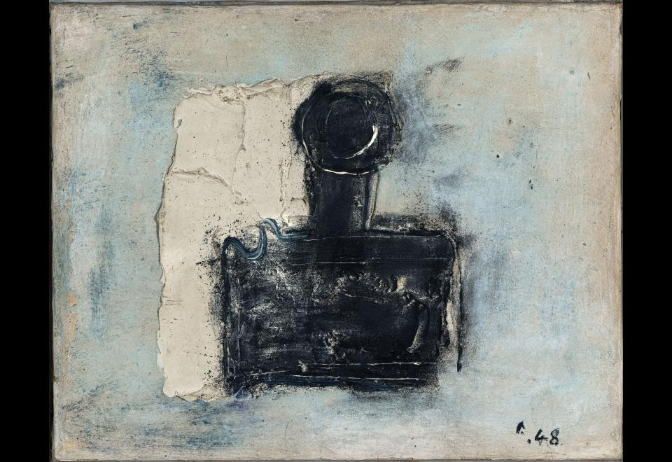 Jean FAUTRIER, L'encrier (de Jean Paulhan), 1948