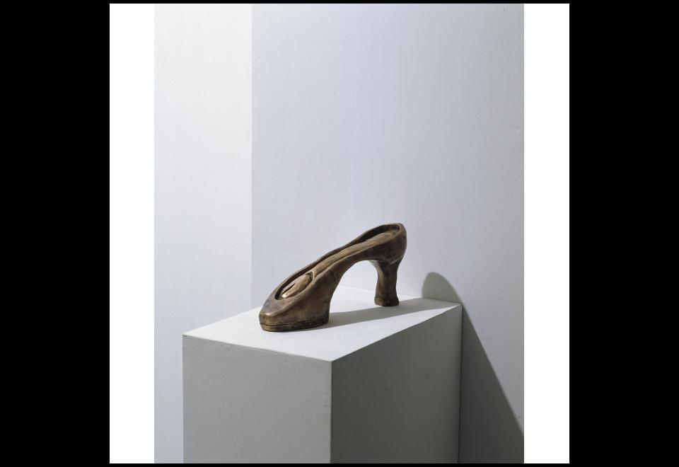 Carol Rama, Feticci (scarpa), 2003