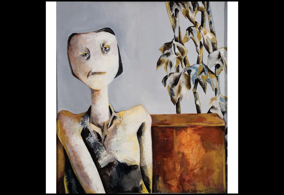 Portrait de la mère de Bahmanh, 1974