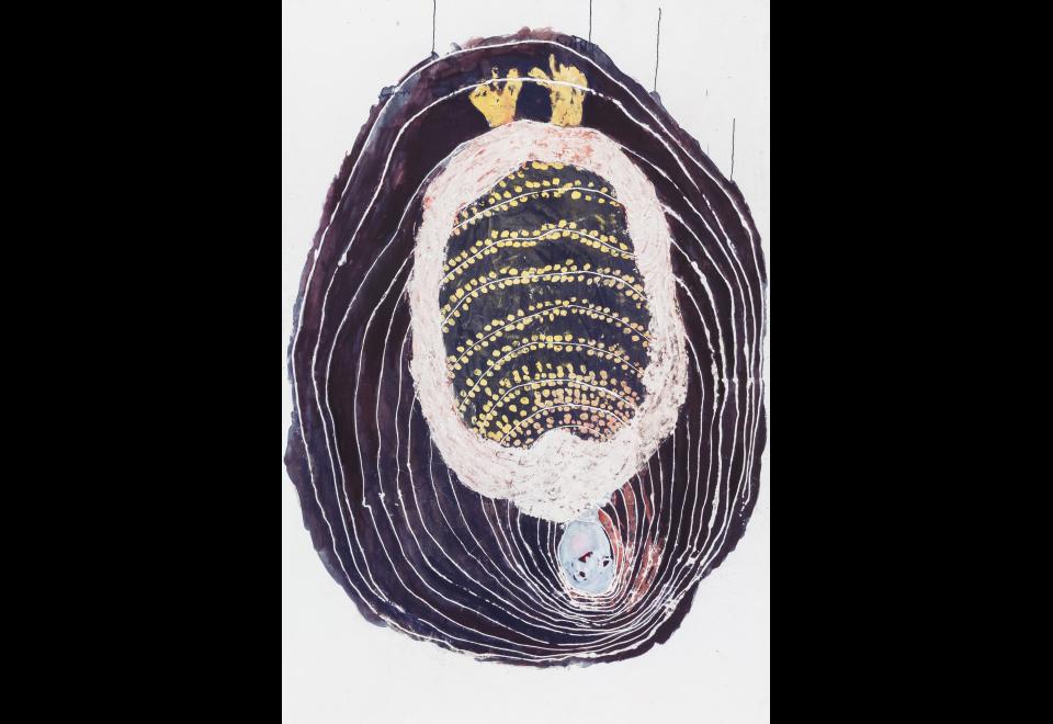 Portia Zvavahera, Kubuda mudumbu Rinerima (Rebirth from the Dark Womb), 2019