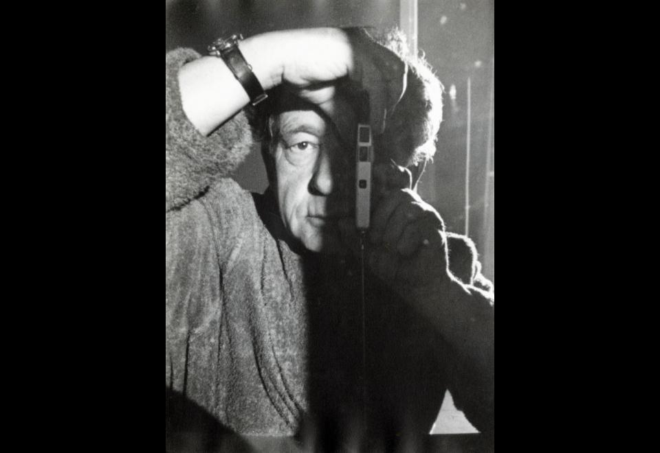 Hans Hartung, Autoportrait, 1966
