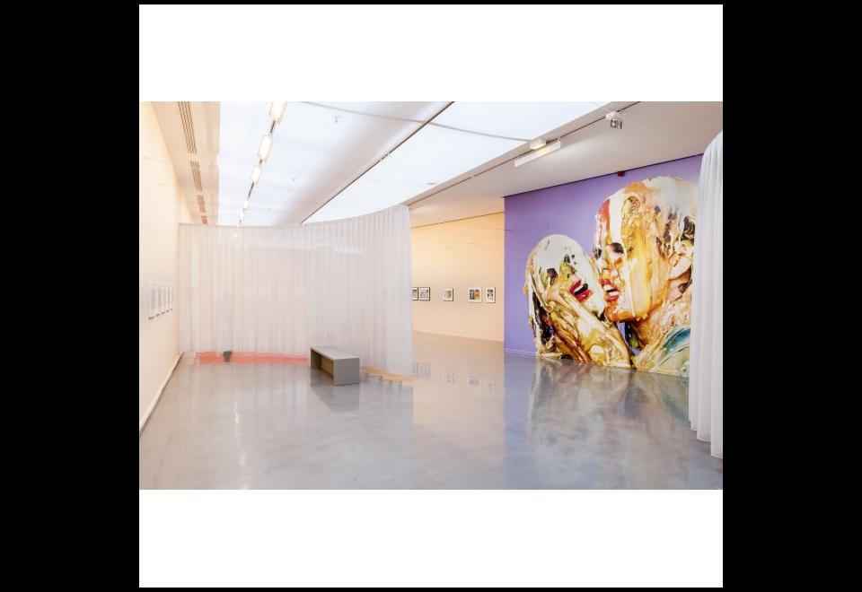 Vue de l'exposition Linder, Femme/Objet