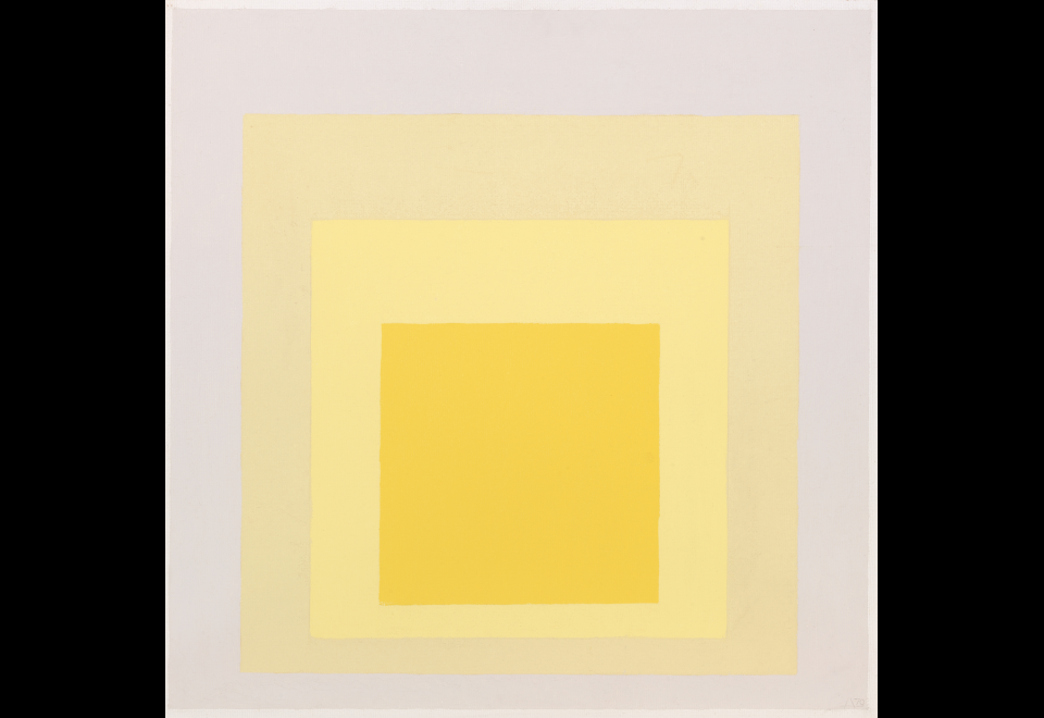 Study for Homage to the Square: Yes-Also, 1970