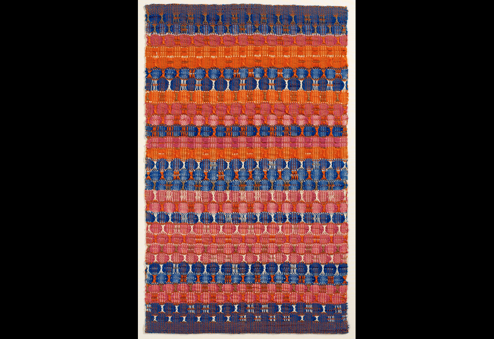 Red and Blue Layers, 1954
