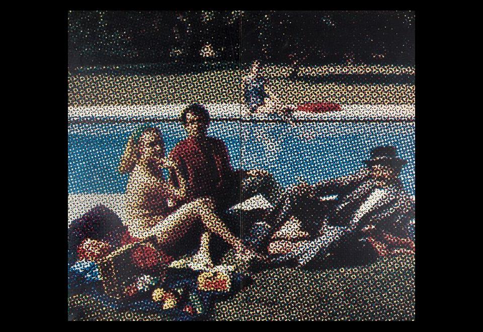 Alain JACQUET, Le déjeuner sur l'herbe, 1964