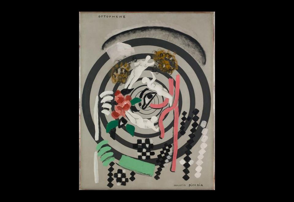 Francis PICABIA, Optophone II, 1922 / 1925