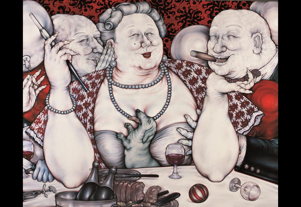 Peng Wan Ts, Le Banquet, 1981-2006