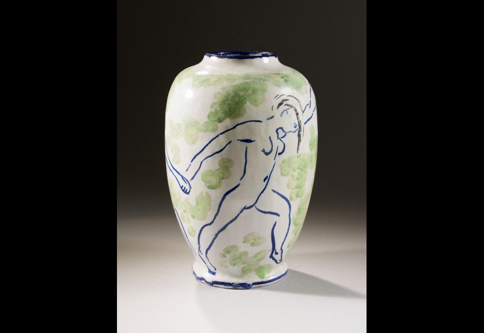 Vase, vers 1907
