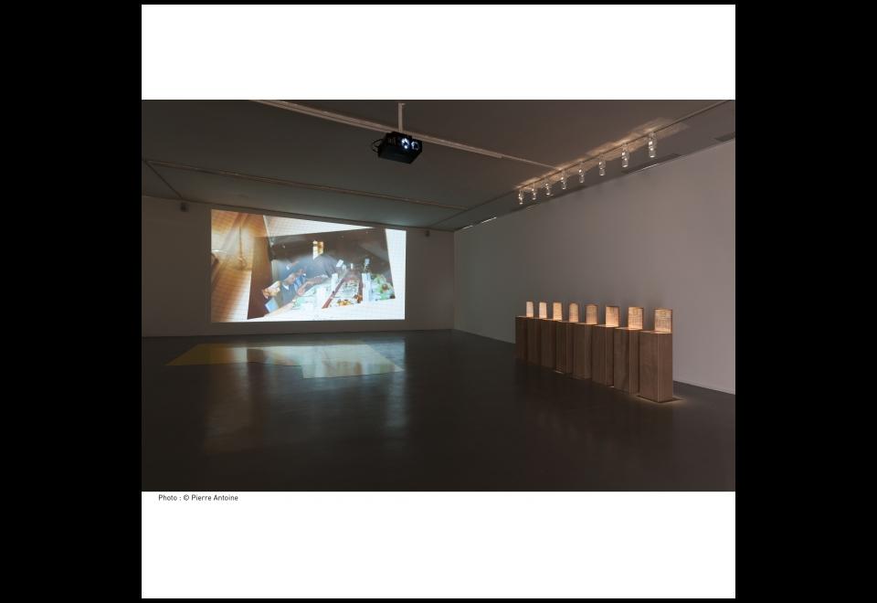 Vue de l'exposition Circuits, Bertille Bak