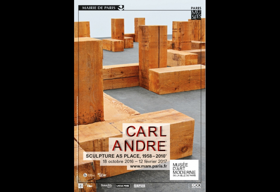 Affiche Carl Andre: Sculpture as place 1958-2010*