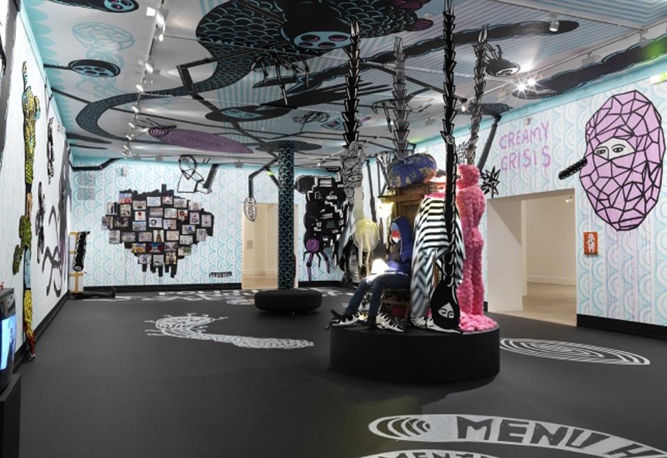 Vue exposition Eko Nugroho, 2012