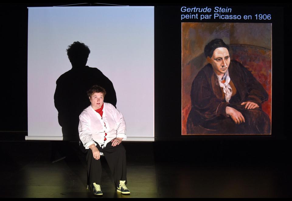 Portrait de Gertrude Stein par Brigitte Seth