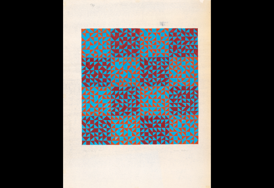 Color Study, 1970
