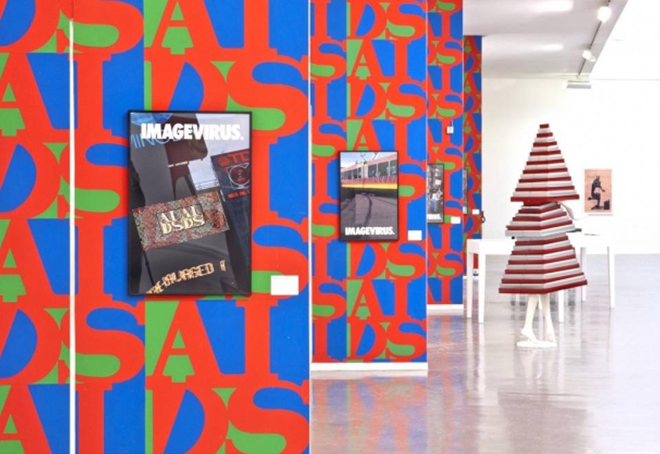Vue de l'exposition Haute Culture