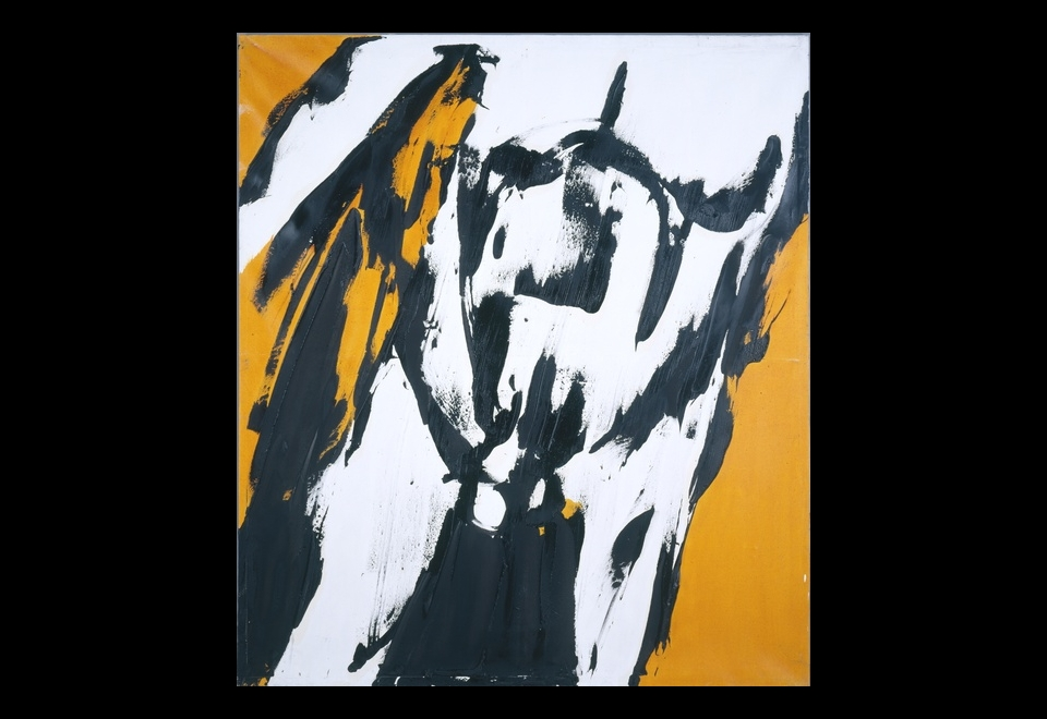 Judit Reigl, <i> Homme Jaune</i>, 1967