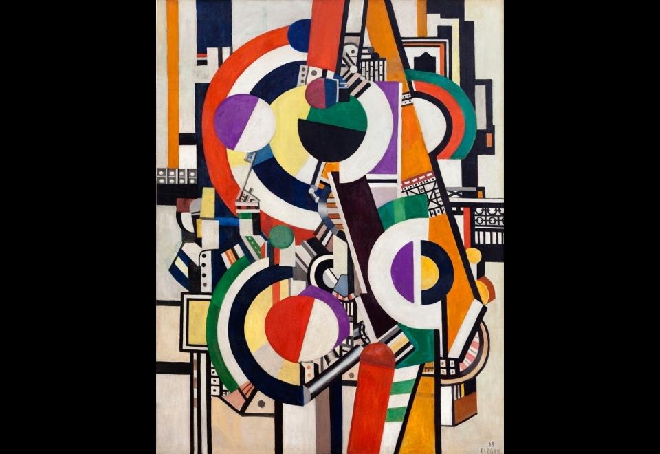 Fernand LÉGER (1881-1955), Les disques, 1918