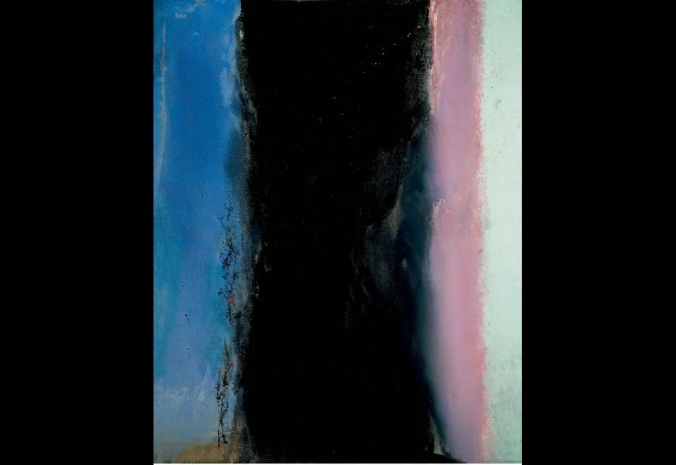 Zao Wou-Ki, <i>Hommage à Matisse I - 02.02.86I</i>, 1986