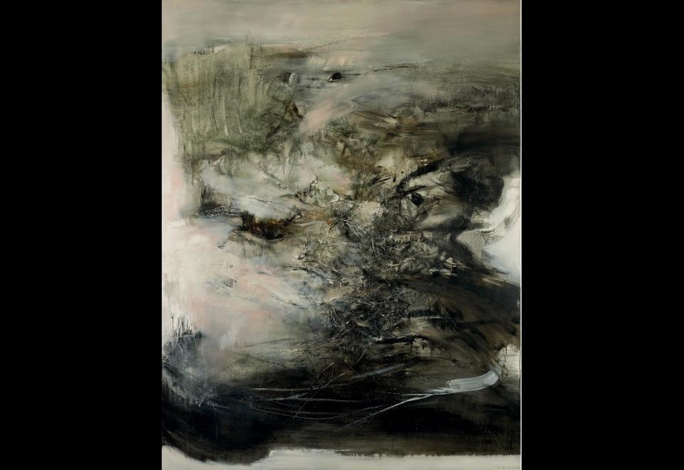 Zao Wou-Ki, <i>06.01.68</i>, 1968