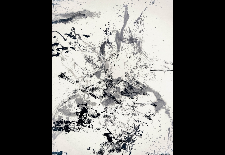 Zao Wou-Ki, <i>Sans titre</i>, 2006