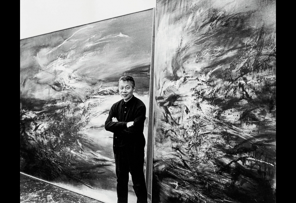 Sydney Waintrob, <i>Zao Wou-ki devant 29.09.64 et 21.09.64</i>, 1967